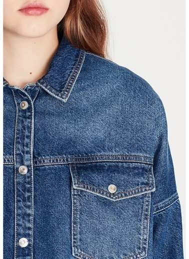 Mavi Jean Gömlek İndigo
